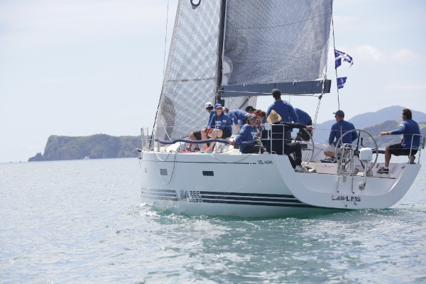 Lawless, crewed entirely by the RNZYS Youth Sailing Squad, took out the IRC Class Two trophy at the last IRC Nationals.