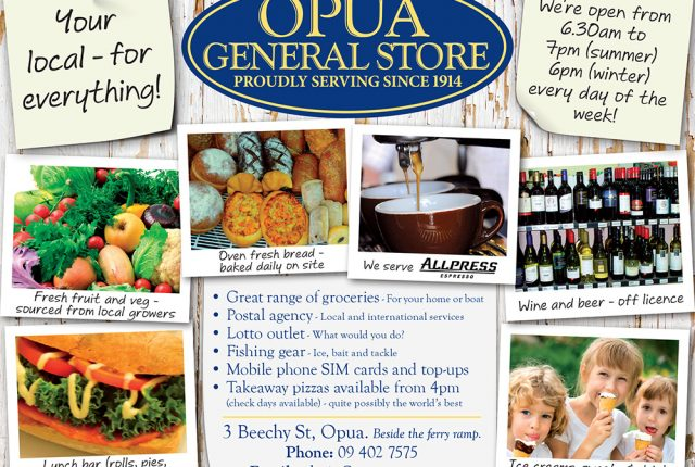 Packed Lunches from the Opua Store teaser image
