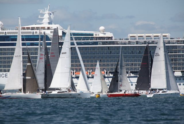 Harbourmaster advice to BOISW competitors re. cruise ship interactions teaser image