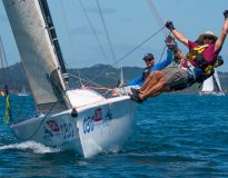 Light winds and high spirits mark first day of CRC Bay of Islands Sailing Week teaser image