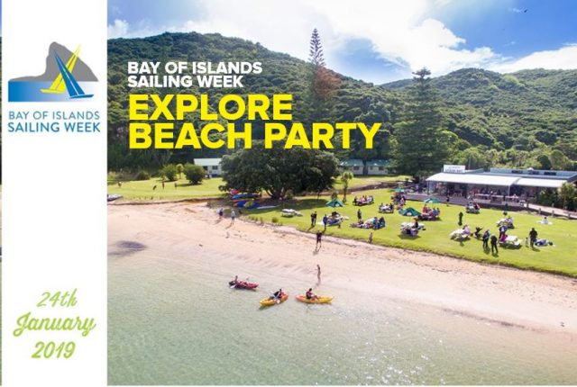 Need to know:  Bay of Islands Sailing Week – Explore Beach Party teaser image